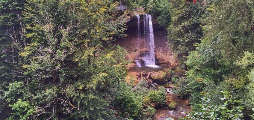 Die Scheidegger Wasserfälle