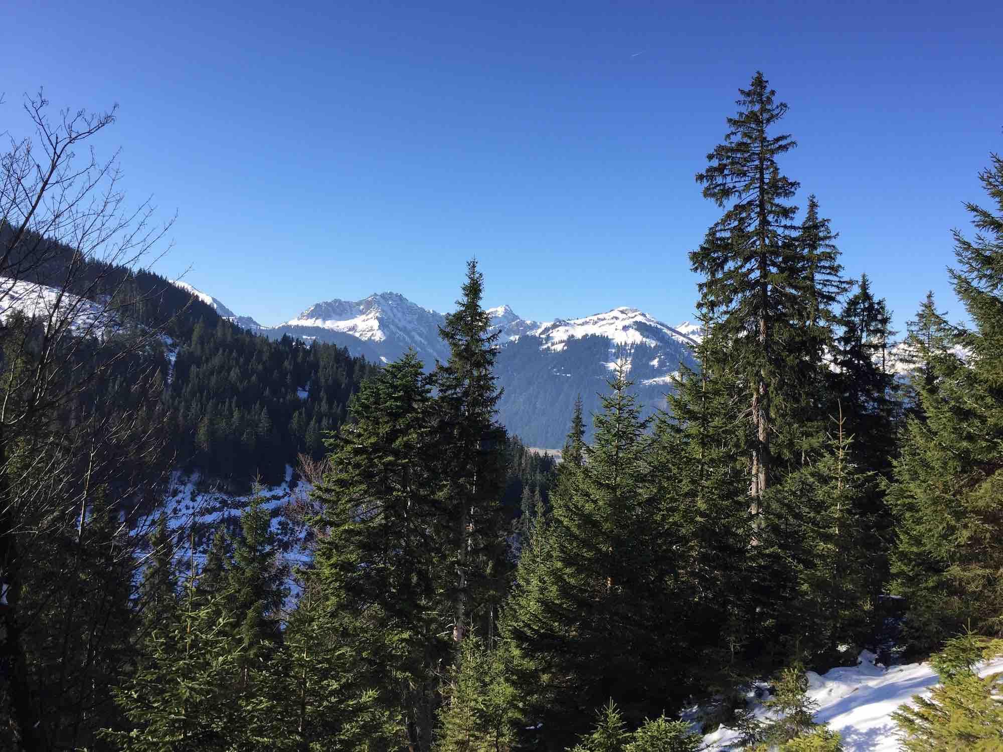 Aufstieg zum Aggenstein