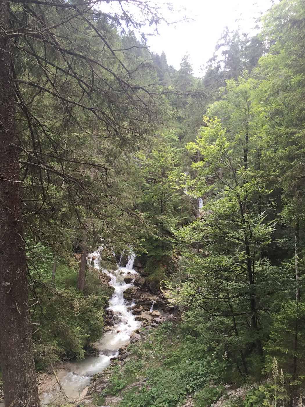 Alpstrudel Wasserfall