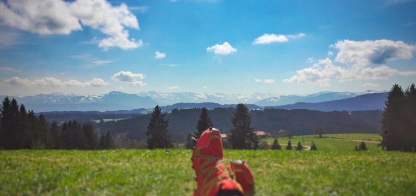 Relaxen am Eschacher Weiher