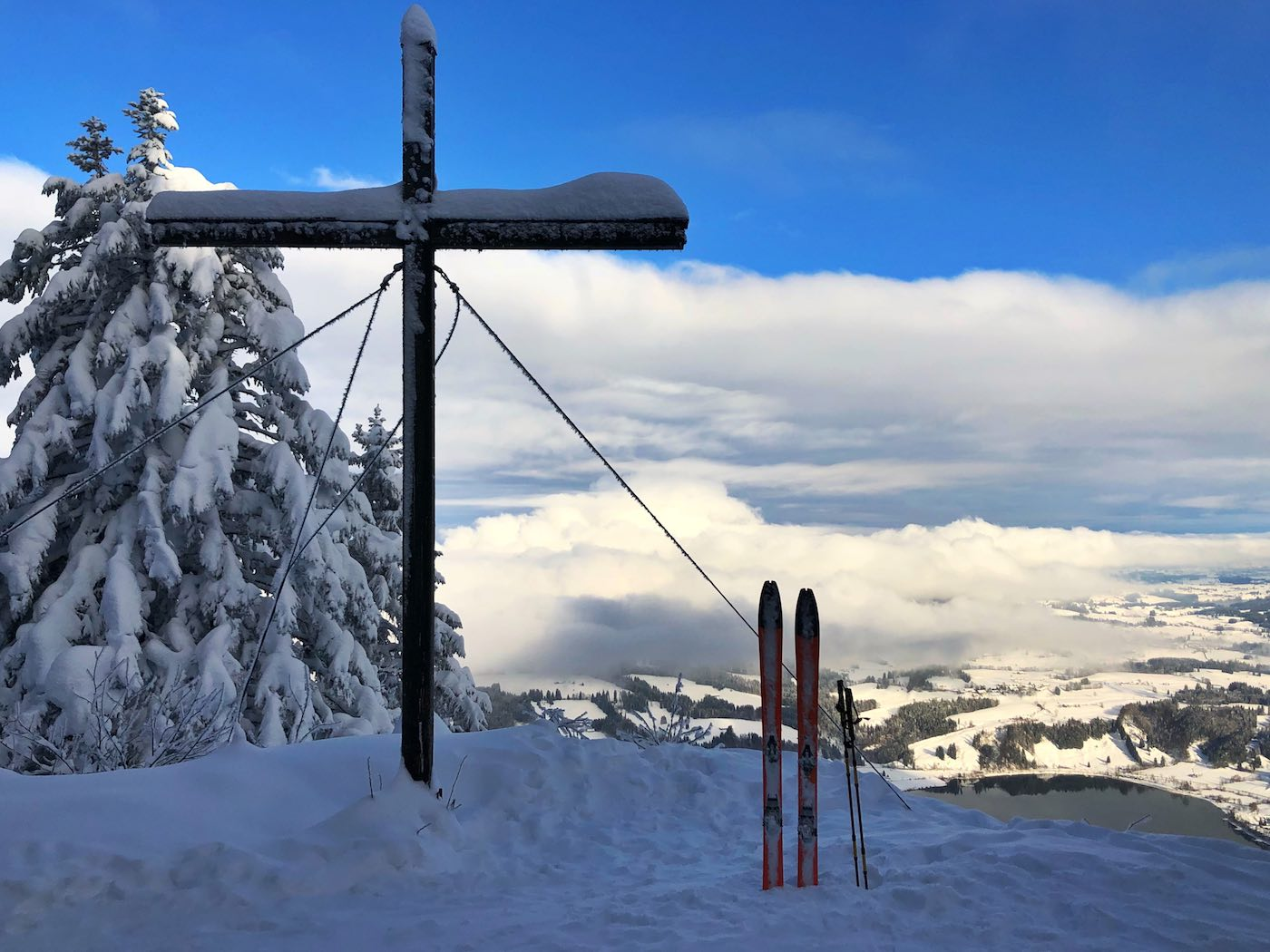 Gipfelkreuz Gschwender Horn