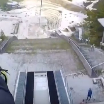 Flying Fox in Planica